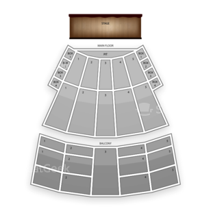 Arie Crown Theater Seating Chart Comedy