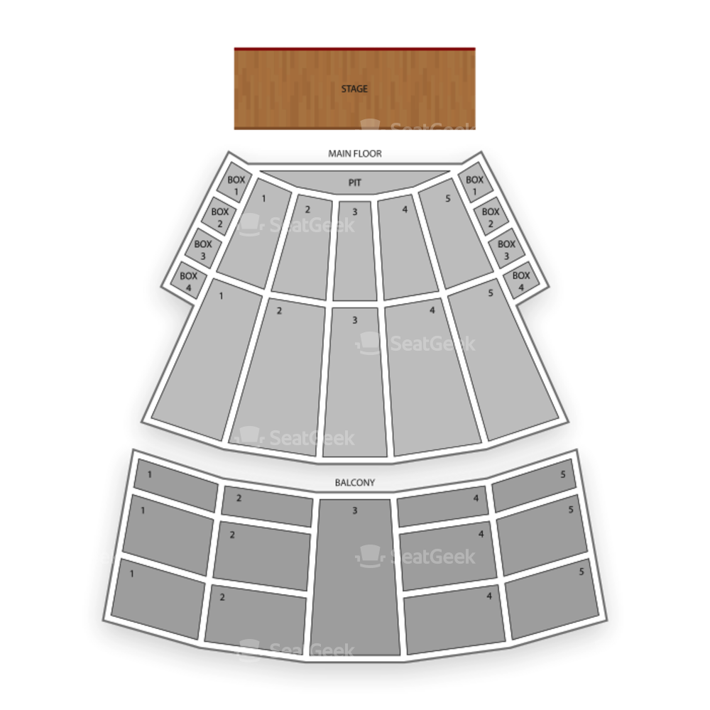 Arie Crown Theater Seating Chart Concert