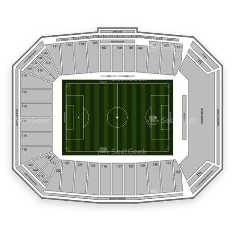 Toyota Stadium seating chart FC Dallas