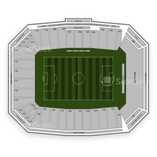 Toyota Stadium Seating Chart NCAA Football