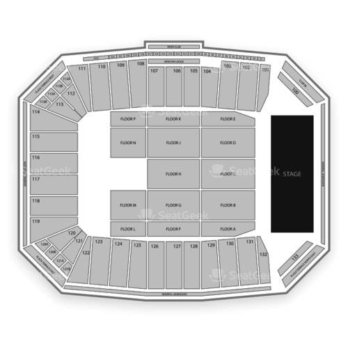 Toyota Stadium Seating Chart Concert