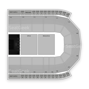 US Cellular Coliseum Seating Chart Concert