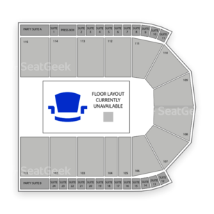 Grossinger Motors Arena Seating Chart Sports