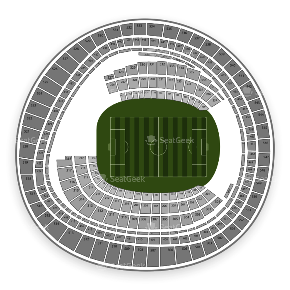 RFK Stadium Seating Chart International Soccer