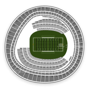 RFK Stadium Seating Chart NCAA Football