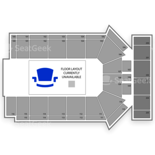 Tyson Events Center Seating Chart Family