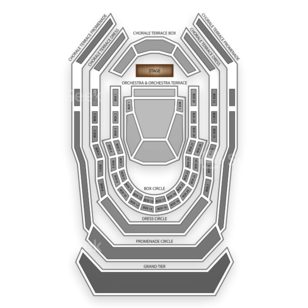 Renee and Henry Segerstrom Concert Hall Seating Chart Classical Orchestral Instrumental