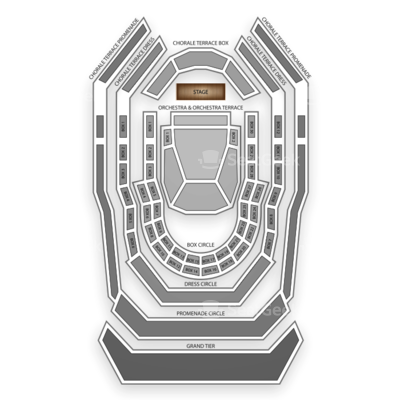 Renee and Henry Segerstrom Concert Hall seating chart Paul Anka