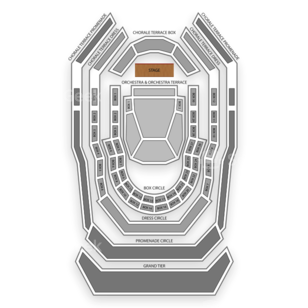 Renee and Henry Segerstrom Concert Hall Seating Chart Dance Performance Tour