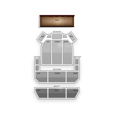 Miller Symphony Hall seating chart George Thorogood & The Destroyers