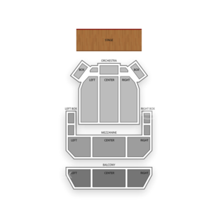 Miller Symphony Hall Seating Chart Dance Performance Tour