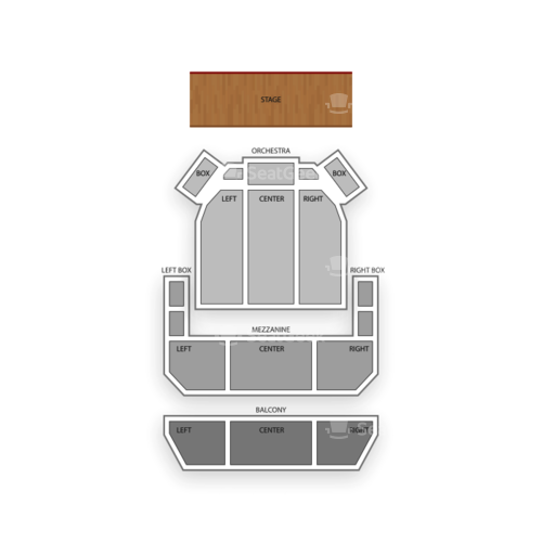 Miller Symphony Hall Allentown Seating Chart Concert