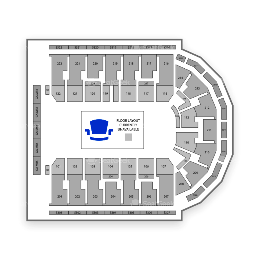 Erie Insurance Arena Seating Chart Theater