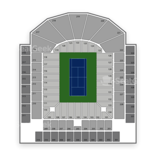 Centre Court at Uniprix Stadium Seating Chart Concert