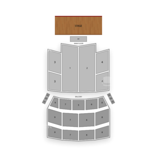 Orpheum Theatre Seating Chart Classical