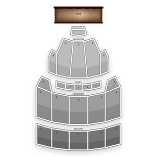 The Bushnell Seating Chart Theater