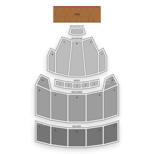 The Bushnell Seating Chart Comedy