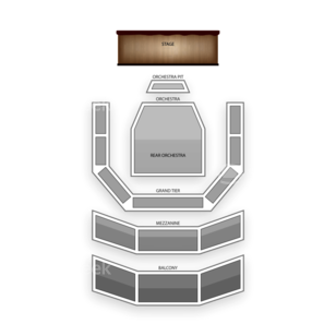 Ellen Eccles Theatre Seating Chart Theater