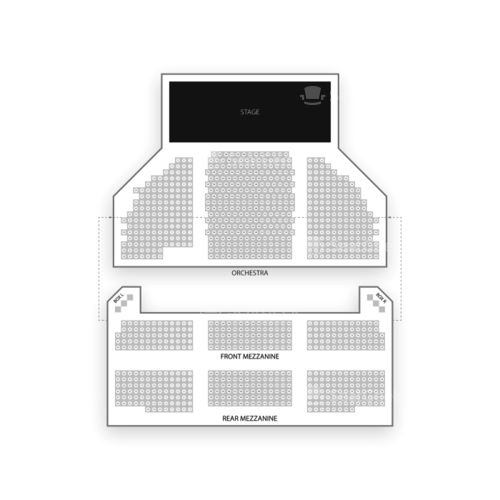 Barrymore Theatre Seating Chart Concert