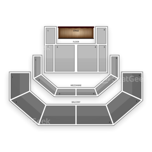 ACL Live at The Moody Theater Seating Chart Family