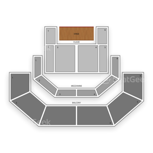 3TEN Austin City Limits Live Seating Chart Theater