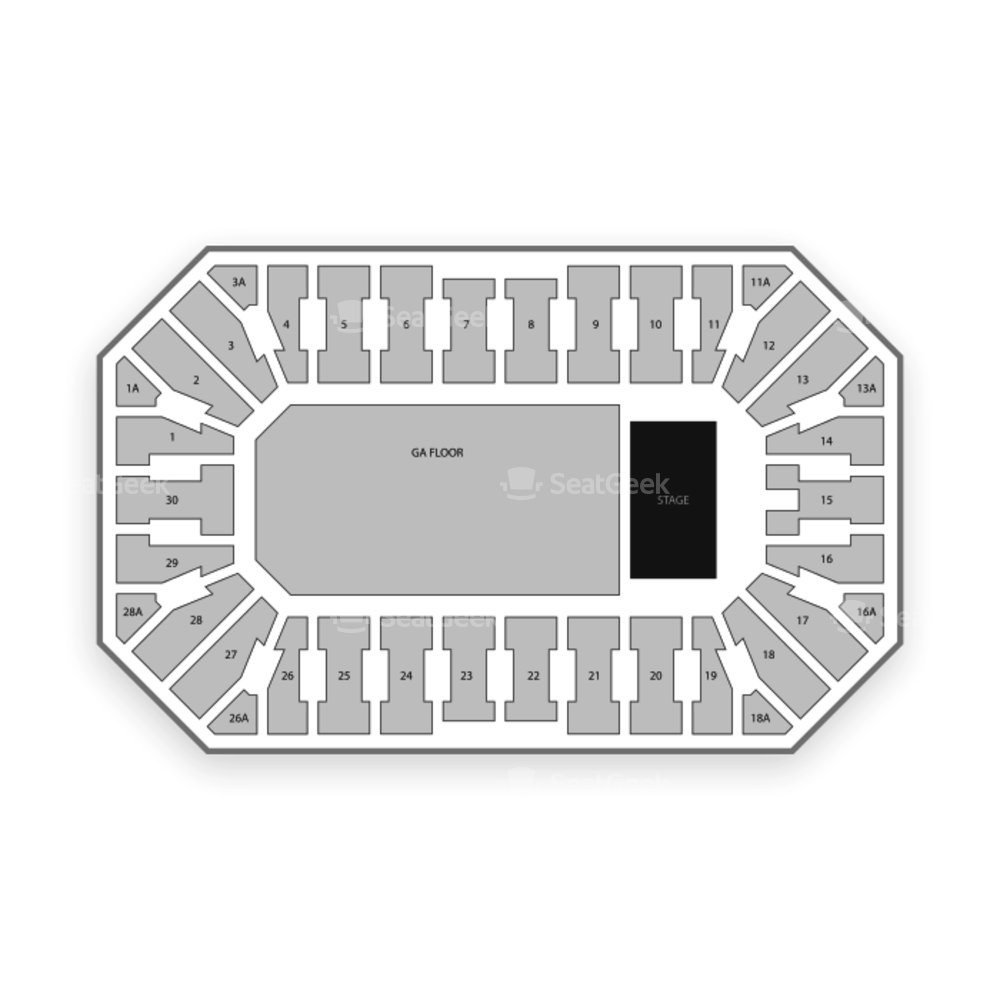 Wings Event Center Seating Chart Concert