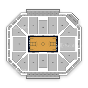 Constant Convocation Center Seating Chart Concert