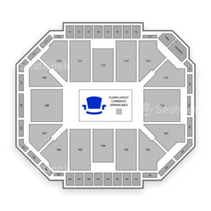 Ted Constant Convocation Center Seating Chart MMA