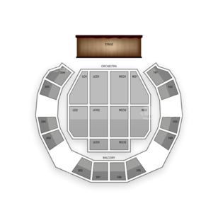 Macon City Auditorium Seating Chart Comedy
