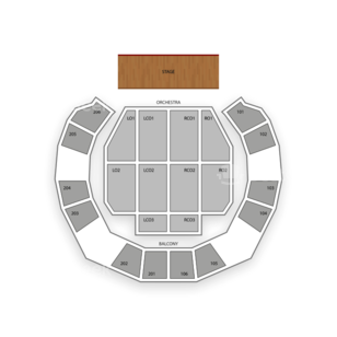 Macon City Auditorium Seating Chart Theater