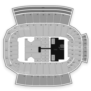 Carter-Finley Stadium Seating Chart Concert