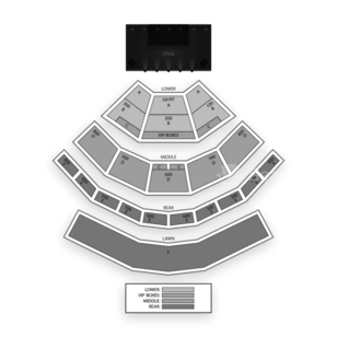 Comcast Theatre Seating Chart Concert