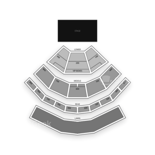 Xfinity Theatre Seating Chart Concert