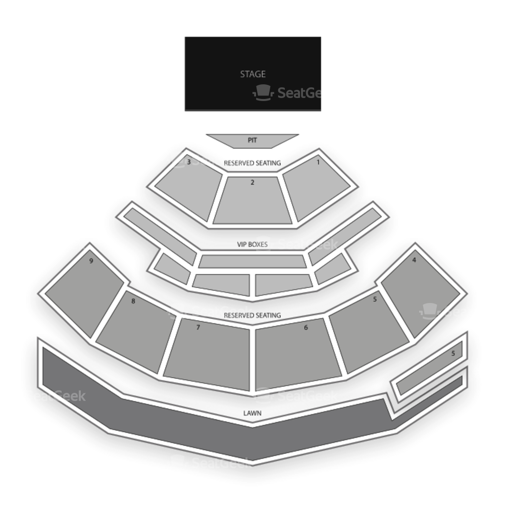 Isleta Amphitheater Seating Chart Concert