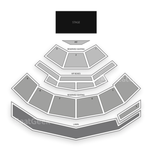 Isleta Amphitheater Seating Chart Comedy