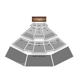 Comfort Dental Amphitheatre Seating Chart Concert