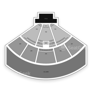 Fiddler's Green Amphitheatre Seating Chart Concert