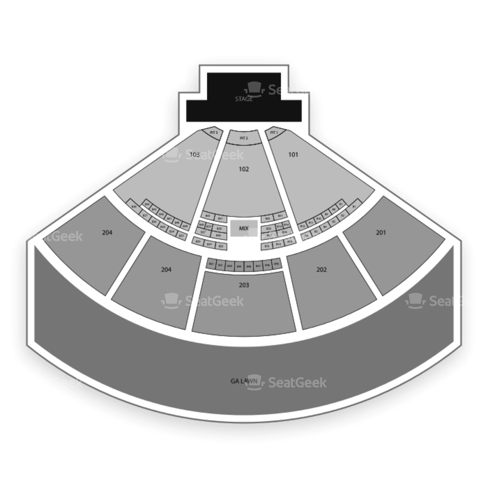 Fiddler's Green Amphitheatre Seating Chart Parking