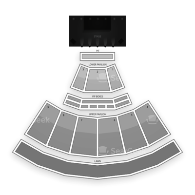 First Niagara Pavilion seating chart 5 Seconds of Summer