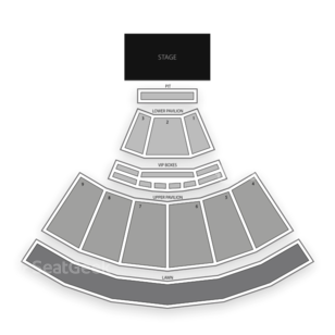 First Niagara Pavilion Seating Chart Concert