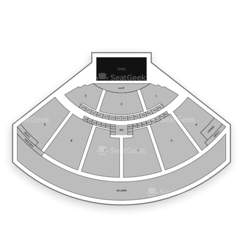 S T Bank Music Park Seating Chart Map Seatgeek