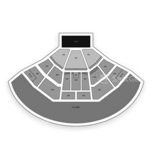 Lakewood Amphitheatre Seating Chart Concert