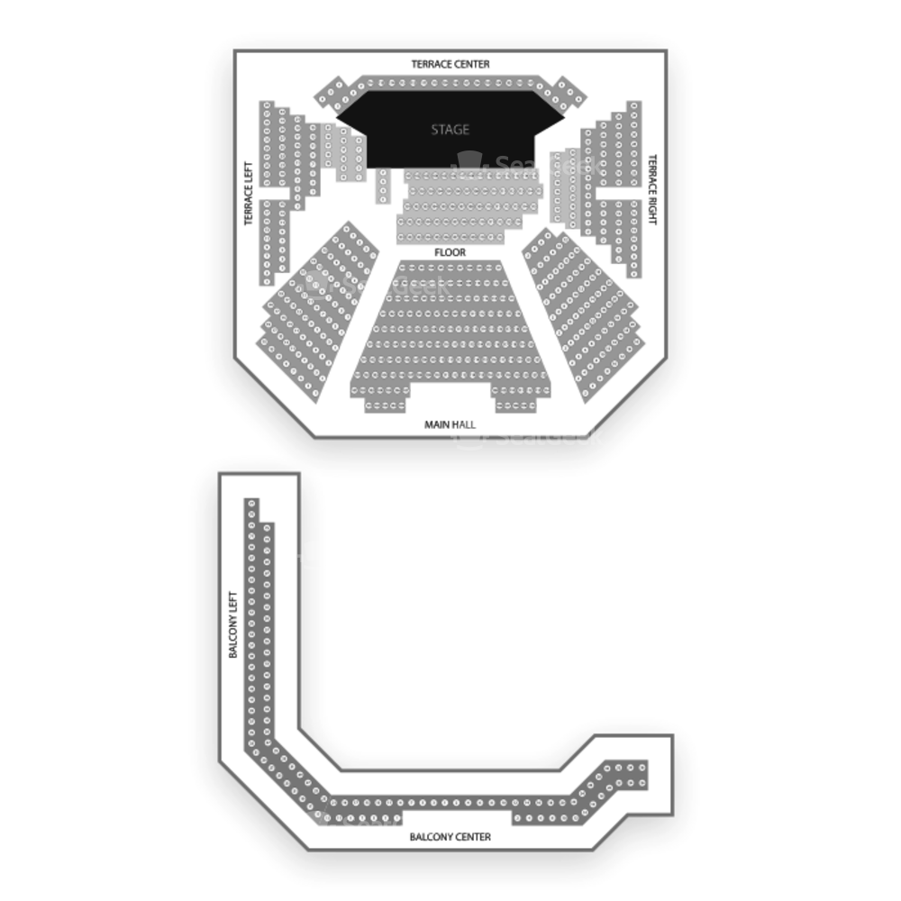 SF Jazz Center Seating Chart Concert
