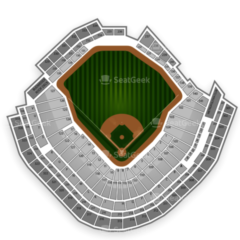 Target Field seating chart Minnesota Twins