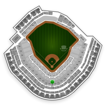Minnesota Twins at Target Field Section 114 View