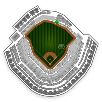 Minnesota Twins at Target Field Section 132 View