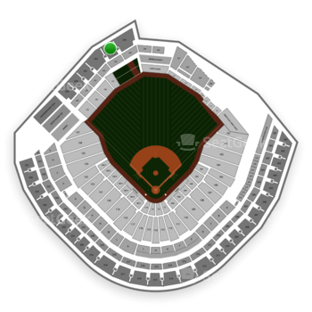 Minnesota Twins at Target Field Section 333 View