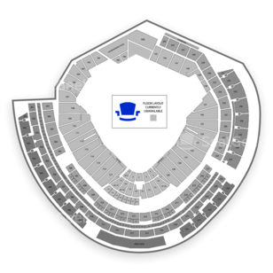 Nationals Park Seating Chart Parking