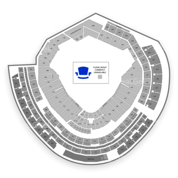 MLB at Nationals Park Section 126 View