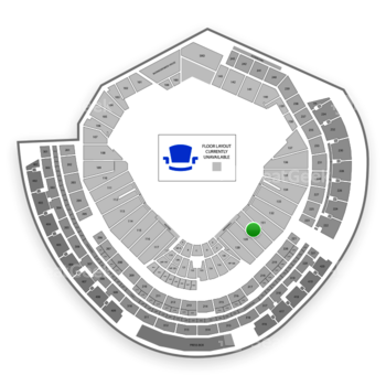 MLB at Nationals Park Section 130 View